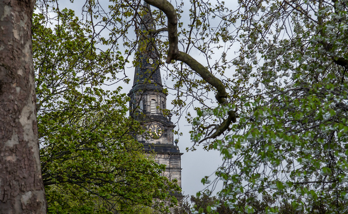 Edinburgh New Town: St Cuthbert's Church