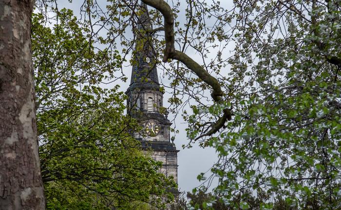New Town: St Cuthbert's Church Edinburgh