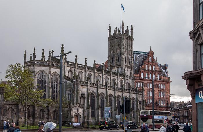 New Town: Princes Street - Church of St John the Evangelist Edinburgh