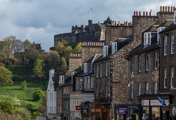 Edinburgh New Town: Frederick Street Edinburgh Castle Old Town