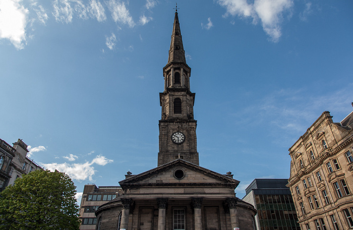 Edinburgh New Town: George Street - St Andrew's and St George's West Church