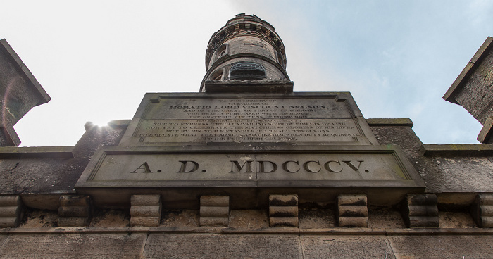 Calton Hill: Nelson Monument Edinburgh