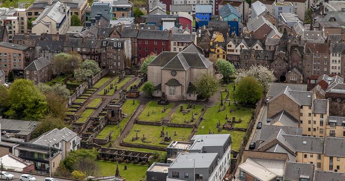 Edinburgh Blick vom Nelson Monument