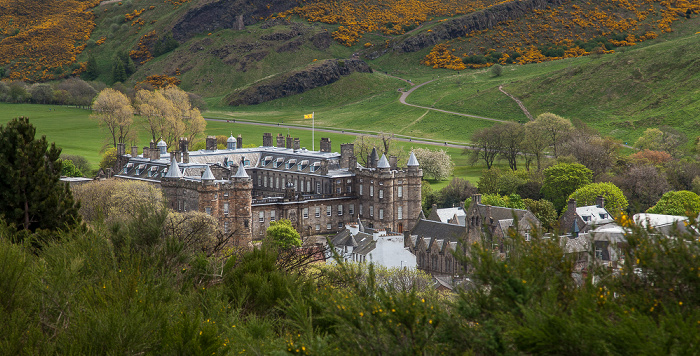Blick vom Calton Hill Edinburgh