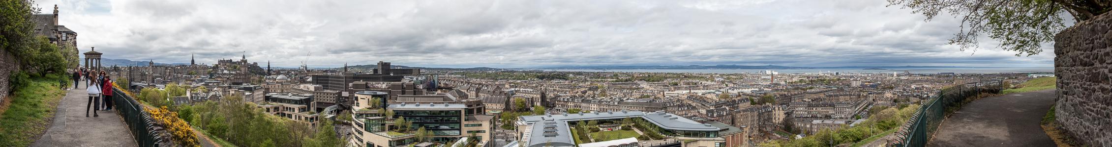 Blick von Calton Hill Edinburgh