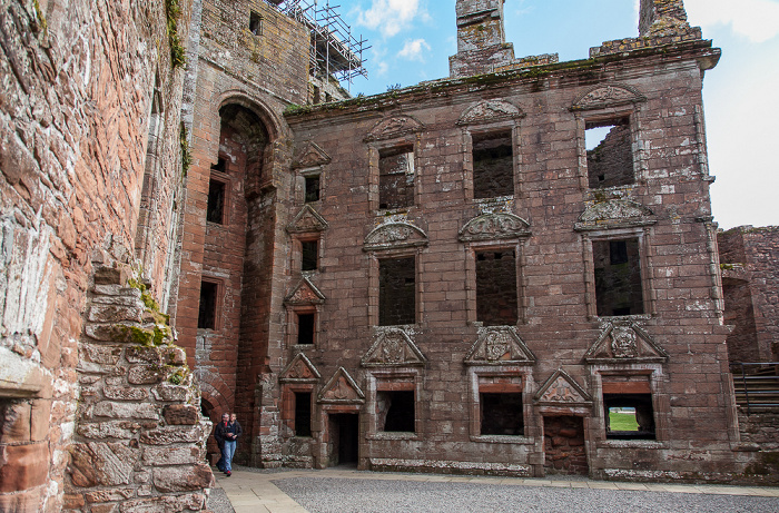 Dumfries Caerlaverock Castle