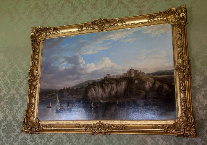 Maybole Culzean Castle: Gemälde von Firth of Clyde und Culzean Castle