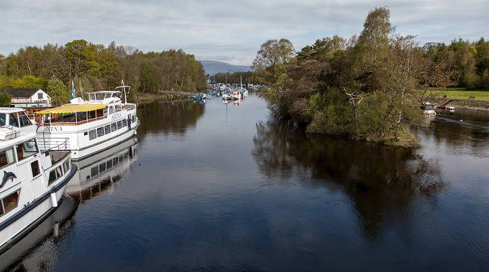 Balloch Loch Lomond and The Trossachs National Park: River Leven