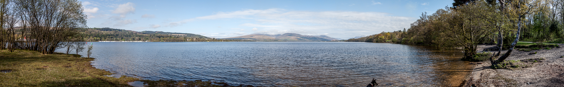 Balloch Loch Lomond and The Trossachs National Park: Loch Lomond