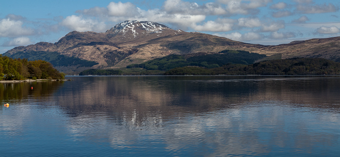 Luss Loch Lomond and The Trossachs National Park: Loch Lomond, Ben Lomond