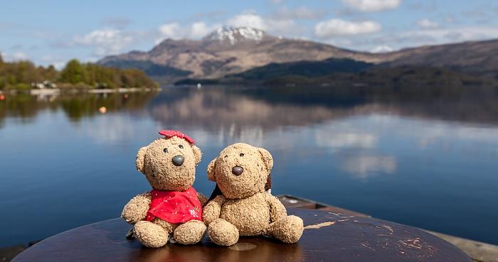 Luss Loch Lomond and The Trossachs National Park: Teddine und Teddy