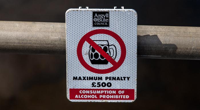 Loch Lomond and The Trossachs National Park: Alkoholverbot am Luss Pier
