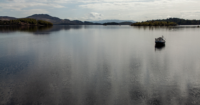 Loch Lomond and The Trossachs National Park: Loch Lomond Luss