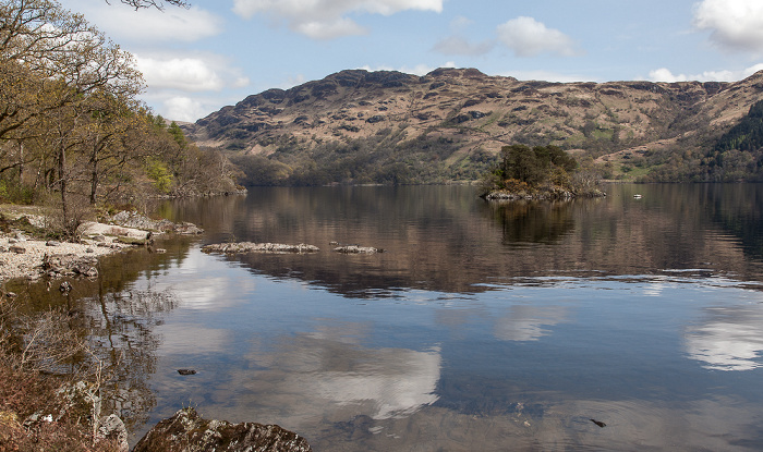 Tarbet (Argyll and Bute) Loch Lomond and The Trossachs National Park: Loch Lomond Tarbert Isle
