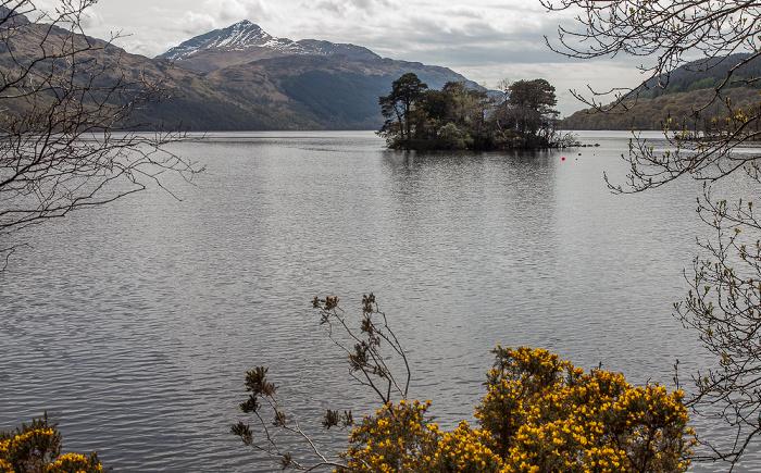 Loch Lomond and The Trossachs National Park: Loch Lomond, Inveruglas Isle