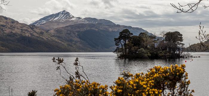 Loch Lomond and The Trossachs National Park: Loch Lomond, Inveruglas Isle, Ben Lomond