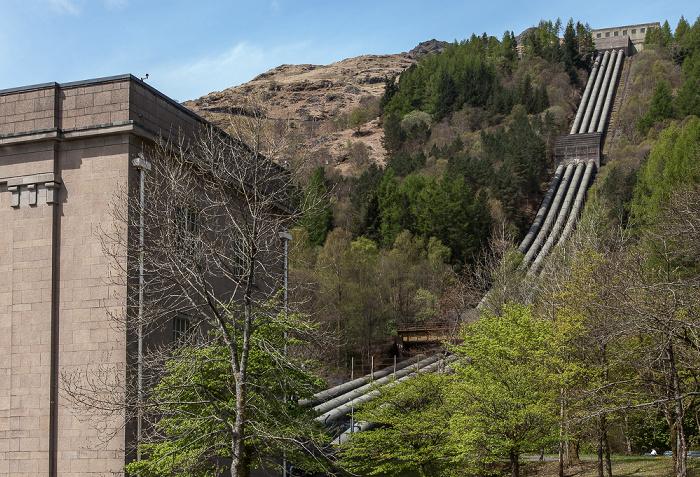 Inveruglas Loch Lomond and The Trossachs National Park: Sloy Power Station