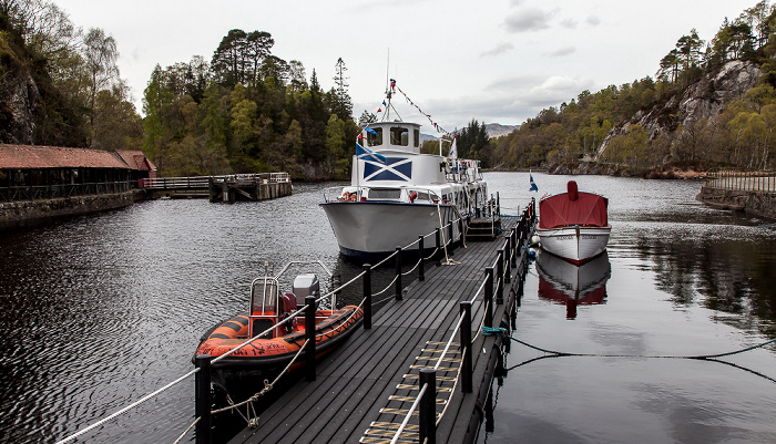 Loch Katrine Loch Lomond and The Trossachs National Park: Trossachs Pier