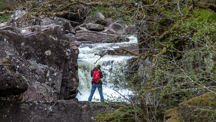 Callander Loch Lomond and The Trossachs National Park: Bracklinn Falls