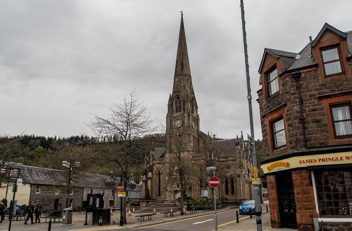 Callander Main Street: Clanranald Trust for Scotland Head Office (ehem. St. Kessog's Church)
