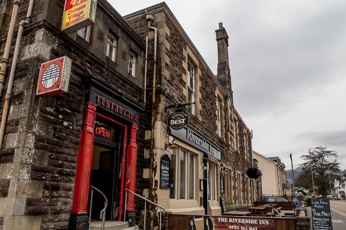 Callander Main Street: The Riverside Inn