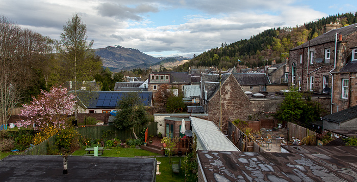 Callander Blick aus The Highland Guest House