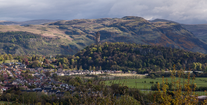 Blick von Stirling Castle Stirling
