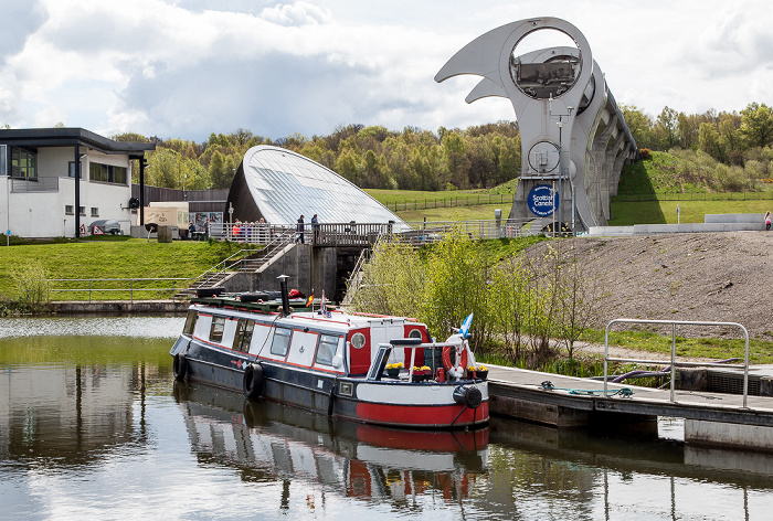 Falkirk Wheel Forth and Clyde Canal Union Canal