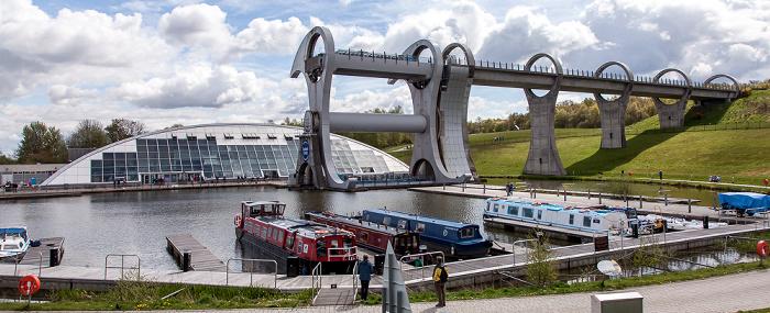 Falkirk Wheel und Union Canal