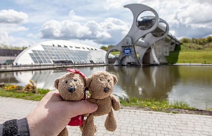 Falkirk Wheel: Teddine und Teddy