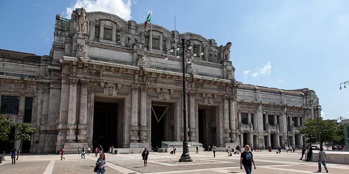 Mailand Piazza Duca d'Aosta, Stazione di Milano Centrale