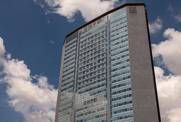 Mailand Centro Direzionale di Milano: Pirelli-Hochhaus (Grattacielo Pirelli, Palazzo Pirelli)
