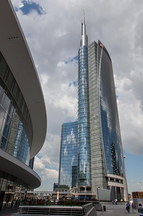 Mailand Centro Direzionale di Milano: Porta Nuova - Piazza Gae Aulenti, Torre Unicredit