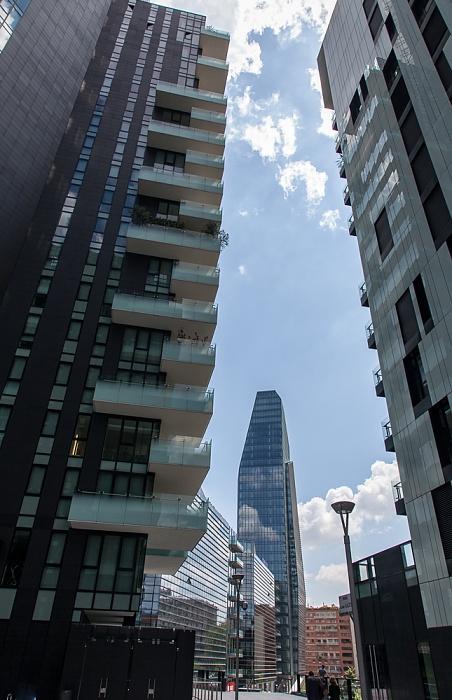 Mailand Centro Direzionale di Milano: Porta Nuova - Torri residenziali delle Varesine Diamantini Torre Diamante Torre Solaria Torre Solea