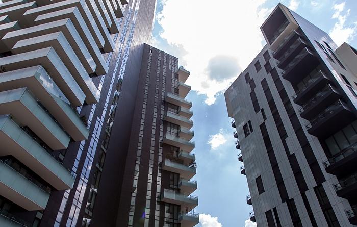 Mailand Centro Direzionale di Milano: Porta Nuova - Torri residenziali delle Varesine