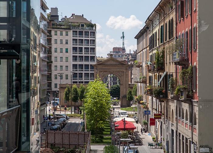 Mailand Centro Direzionale di Milano: Porta Nuova - Via Amerigo Vespucci Piazzale Principessa Clotilde