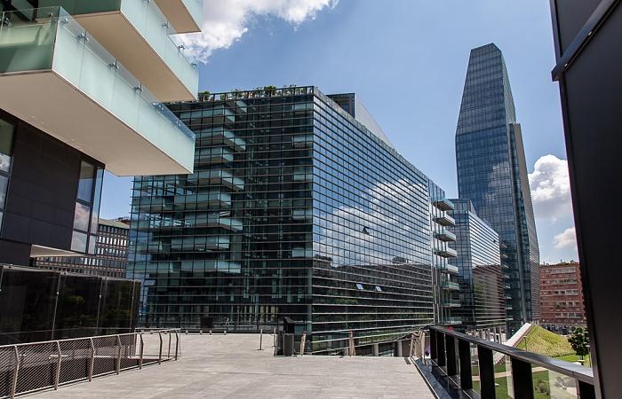 Mailand Centro Direzionale di Milano: Porta Nuova - Diamantini und Torre Diamante