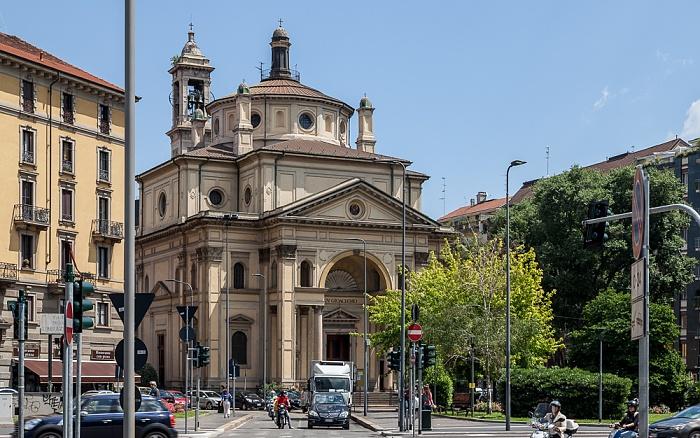 Mailand Piazza San Gioachimo: Chiesa di San Gioachimo