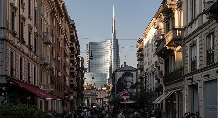 Mailand Corso Garibaldi Torre Unicredit