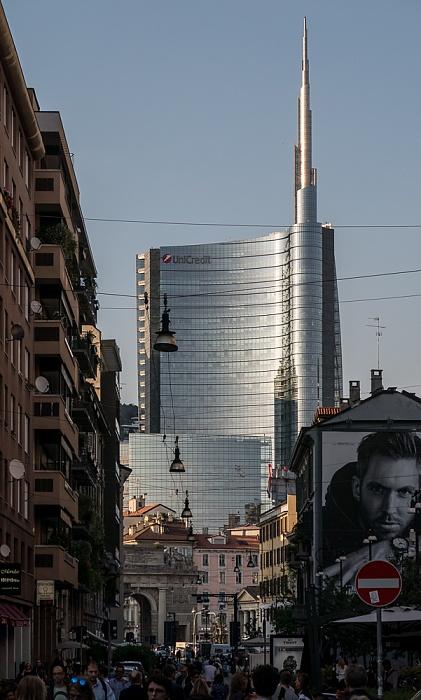 Mailand Corso Garibaldi, Torre Unicredit Porta Garibaldi