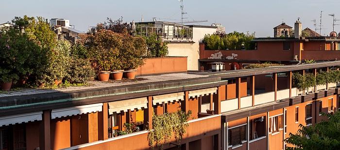 Mailand Blick aus dem Hotel Ritter