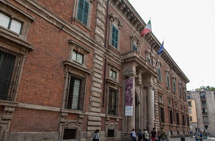 Mailand Via Brera: Palazzo di Brera (Biblioteca Nazionale Braidense)