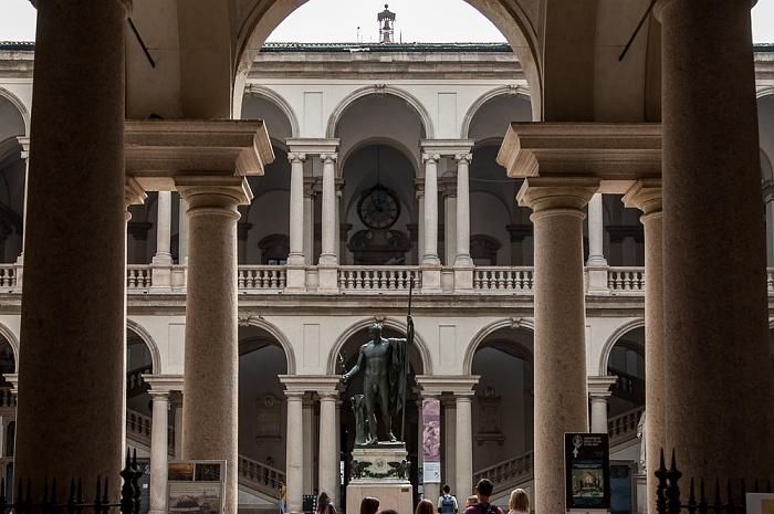 Mailand Palazzo di Brera (Biblioteca Nazionale Braidense)