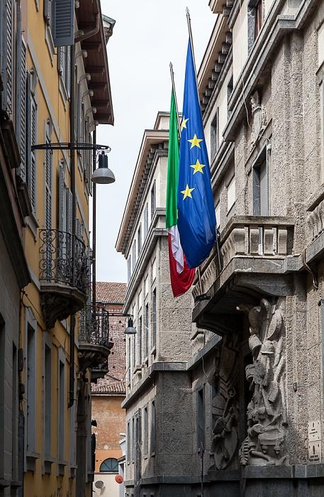 Mailand Via del Carmine: Palazzo Cusani