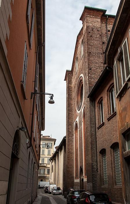 Mailand Via del Carmine: Chiesa di Santa Maria del Carmine