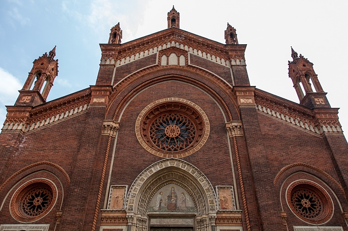 Mailand Piazza del Carmine: Chiesa di Santa Maria del Carmine