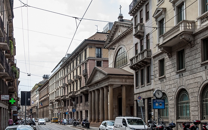 Mailand Via Broletto: Chiesa di San Tomaso in Terramara