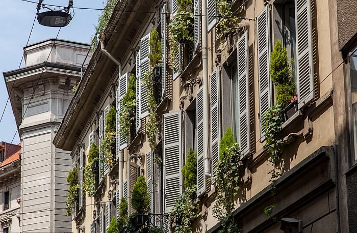 Mailand Via San Tomaso