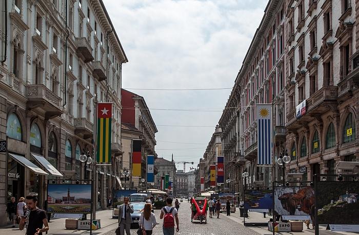 Mailand Via Dante