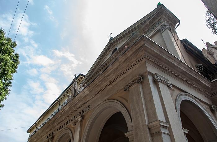 Mailand Via San Giovanni sul Muro: Chiesa di Santa Maria della Consolazione (Santa Maria al Castello)
